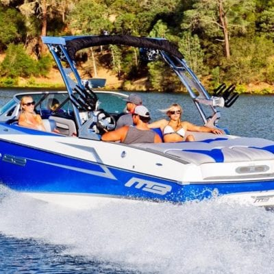 23' MB Sport Wake Boat