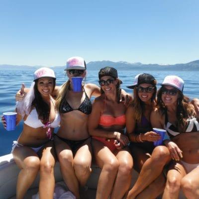 Tahoe Bachelorette Charter