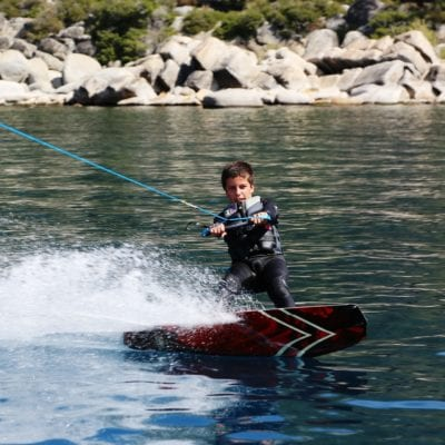 Wake Boarding Tahoe